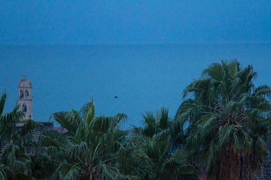 Emily's Hotel:                   View of the Sea of Galilee