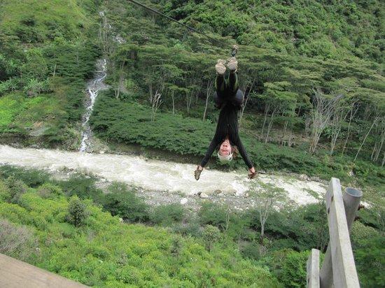 Santa Teresa, Perú:                   upside down :)