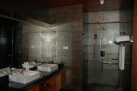Clove Villa:                   Large shower