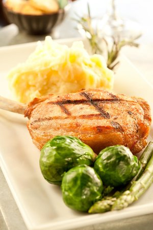 Crady's Eclectic Cuisine on Main: Bone-In Pork Chop