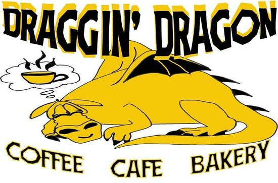 Draggin' Dragon: Look for this sign and you're in the right spot!