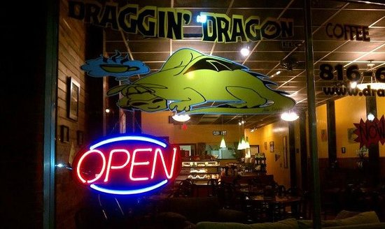 Draggin' Dragon: Here's the store front