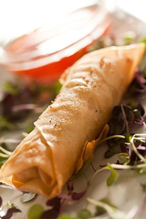 Crady's Eclectic Cuisine on Main: Spring Roll