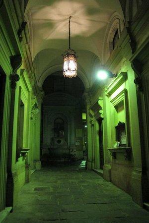 Hotel Galatea: La entrada al hotel!