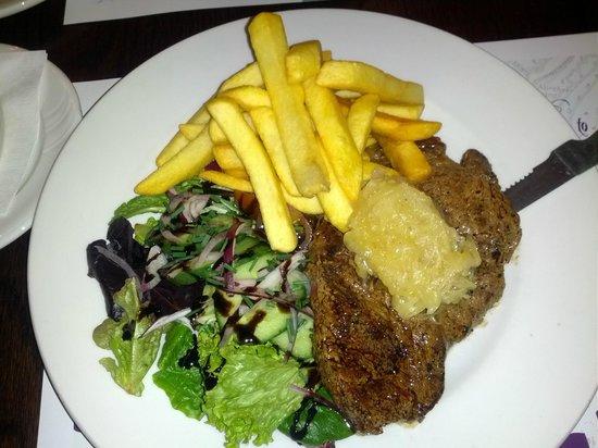 Samuel Pepys Hotel :                   Steak