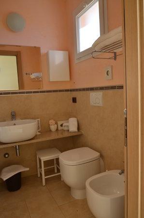 Hotel Mirage : Bagni