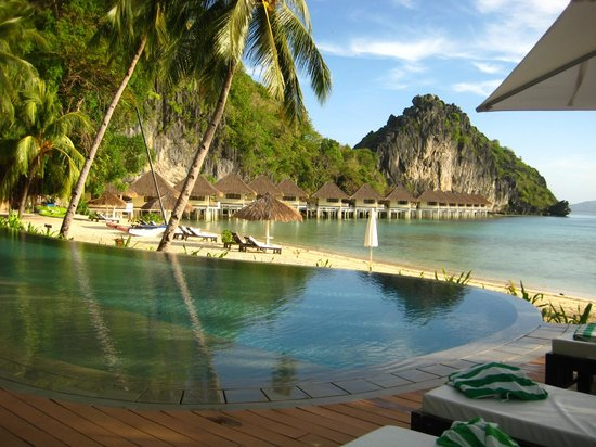 El Nido Resorts Apulit Island:                   Pool