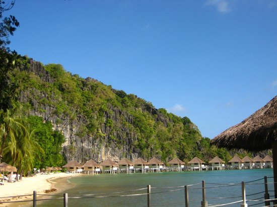 El Nido Resorts Apulit Island:                   View