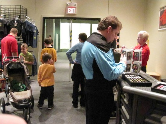 Saint Louis Science Center:                   trekkies