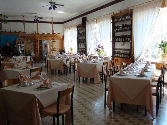 Trattoria Di Biagio Romano : il bosco del pesce