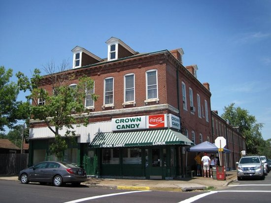 outside of Crown Candy Kitchen - Picture of Crown Candy Kitchen ...