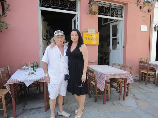 Taverna Platanos :                   final goodbye
