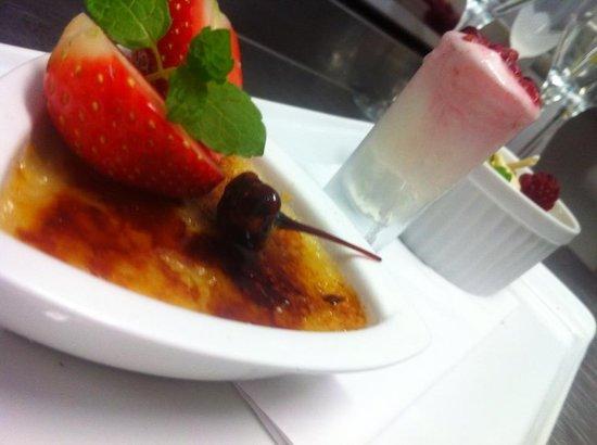 Trio: Dessert