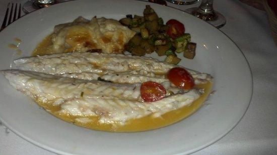Bella Sera: Branzini (Mediterranean sea bass)