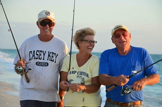 Gulfside Beach Club: Great fun fishing