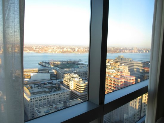 Trump SoHo New York: View from living room