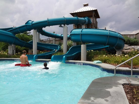 The Hotel Hershey: Pool Slide