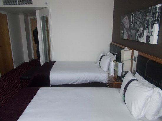 Holiday Inn Manchester MediaCityUK: Room 1502