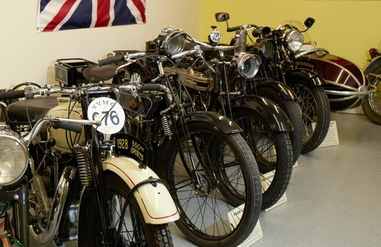Sturgis Motorcycle Museum & Hall of Fame: British motorcycles