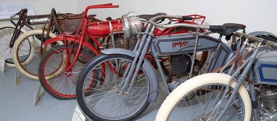 Sturgis Motorcycle Museum & Hall of Fame: The Early Days - pre-1916 motorcycles