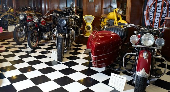 Sturgis Motorcycle Museum & Hall of Fame: About 100 unique motorcycles on exhibit year-round