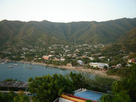 Hotel Kikuxtah : vista de Taganga
