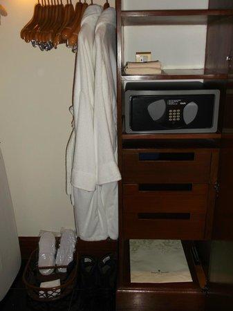 شانجري لاز إروس هوتل نيو ديلهي: closet