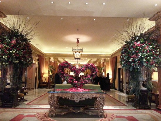 The Dorchester:                   valentines day at promenade