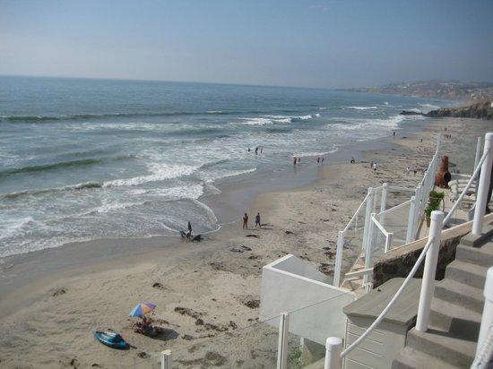 Casa Farolito Bed & Breakfast: Beach from Casa Farolito