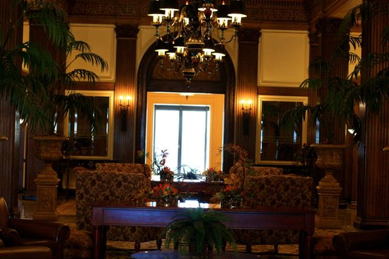 Marcus Whitman Hotel & Conference Center:                   Hotel Lobby