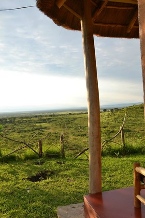 Pumba Safari Cottages:                   View from a cottage