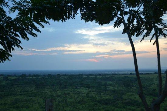 Pumba Safari Cottages:                   View