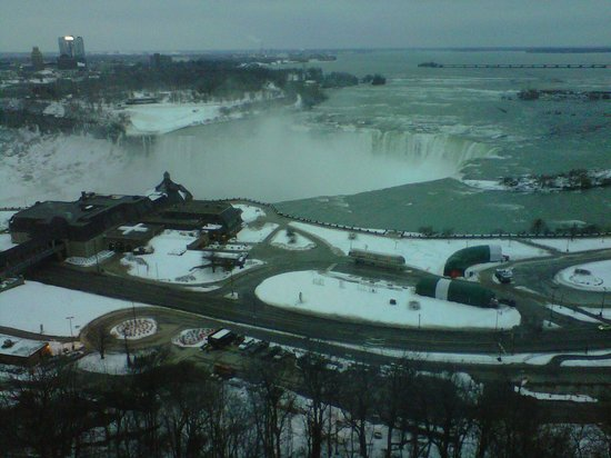 Niagara Falls Marriott Fallsview Hotel & Spa:                   17 floor