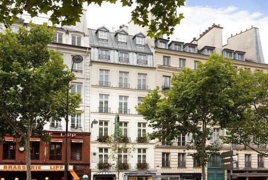 Au Manoir Saint Germain De Pres: Exterior