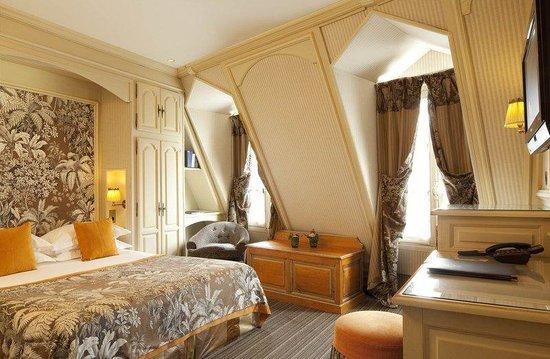 Au Manoir Saint Germain De Pres: Deluxe Room