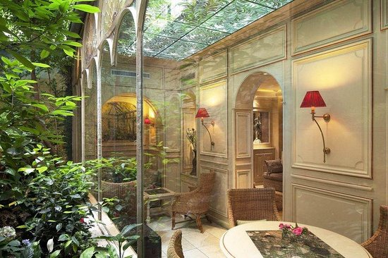 Au Manoir Saint Germain De Pres: Lobby