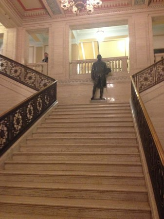 Parliament Buildings: Stairs at Stormont