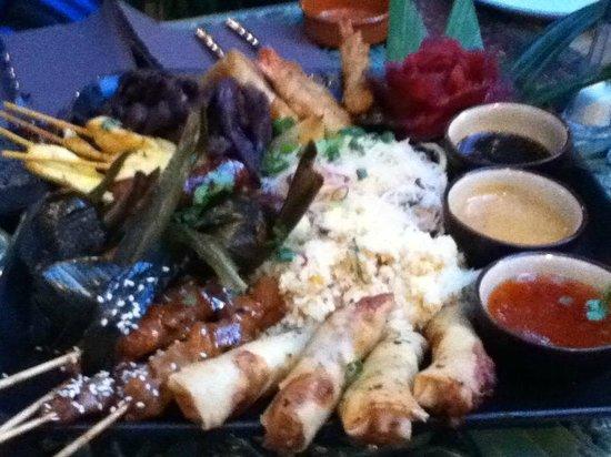 Le Cafe Thai : entree : plateau royal