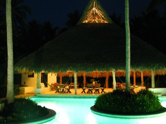 La Cocotera Resort & Ecolodge: Vista nocturna