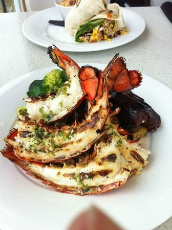 Bayshore Restaurant and Patio:                   Our meals