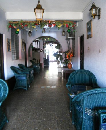Hotel Mesa de Los Mayas:                   corridoio