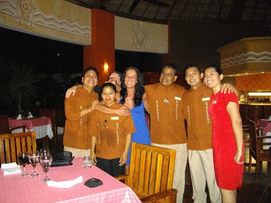 Valentin Imperial Maya:                   what a dinner!!!!