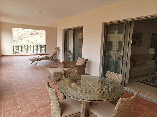Villa del Palmar Beach Resort & Spa at The Islands of Loreto:                   Balcony/Patio area