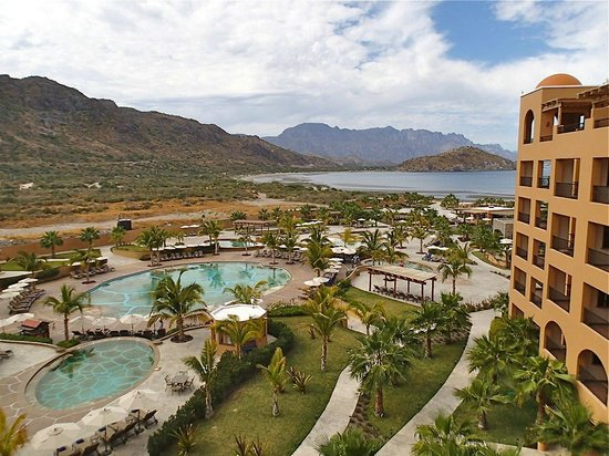 Villa del Palmar Beach Resort & Spa at The Islands of Loreto:                   View toward Loreto Bay