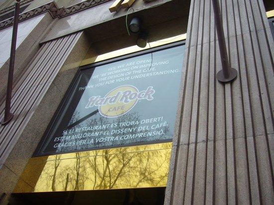 BCN Market Inn: Hard rock caffè ridotto per restauri