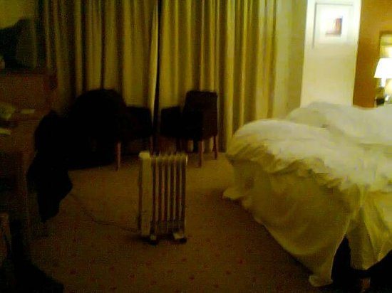 Clarion Hotel Liffey Valley:                   State of the art heating