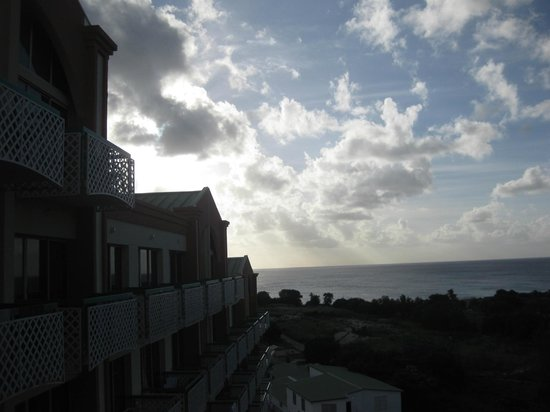Sonesta Maho Beach Resort, Casino & Spa:                   the hotel view from the room