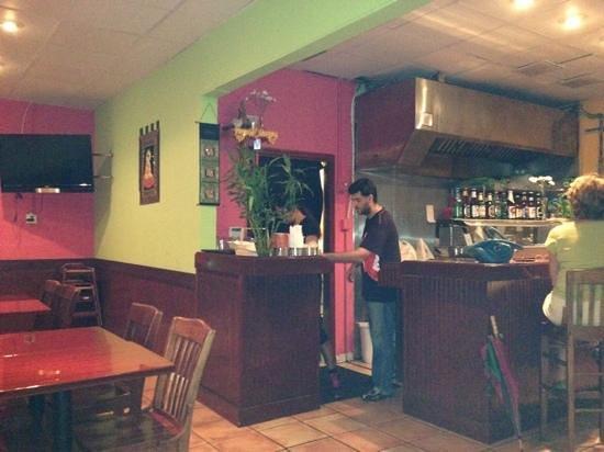 Ricky Thai Bistro:                   bar and interior
