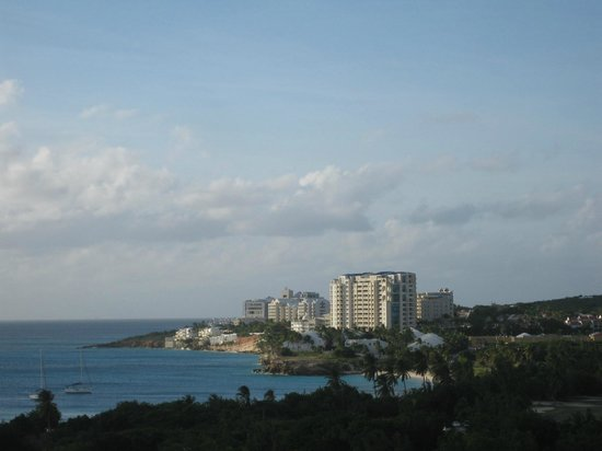 Sonesta Maho Beach Resort & Casino:                   view to mullet bay from the room