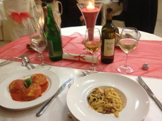 Hotel Ristorante La Lanterna:                   i piatti della serata